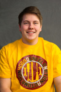 Logan M: Logan found robotics through friends. He plans to be involved in graphic design this year.